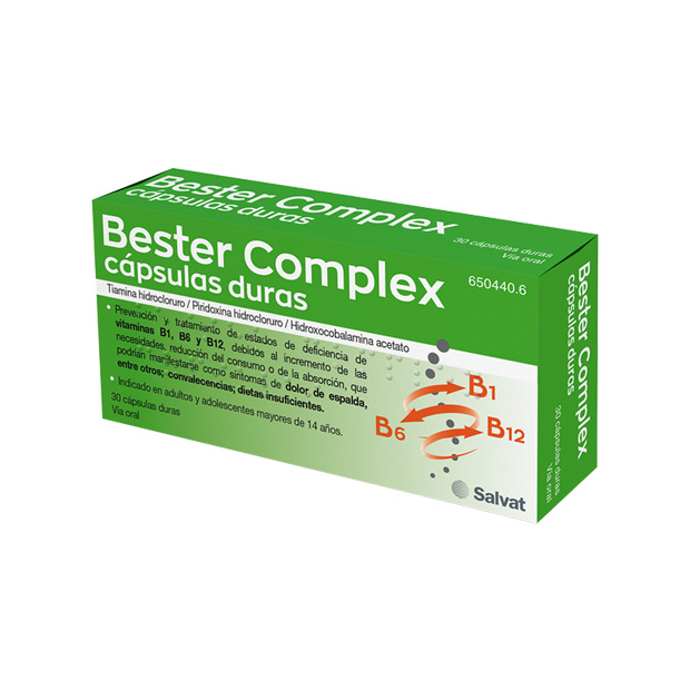 Imagen del producto BESTER COMPLEX 30 CÁPSULAS