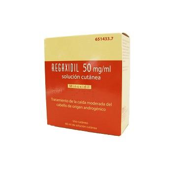 Imagen del producto REGAXIDIL 50 mg/ml SOLUCION CUTANEA , 1 frasco de 60 ml