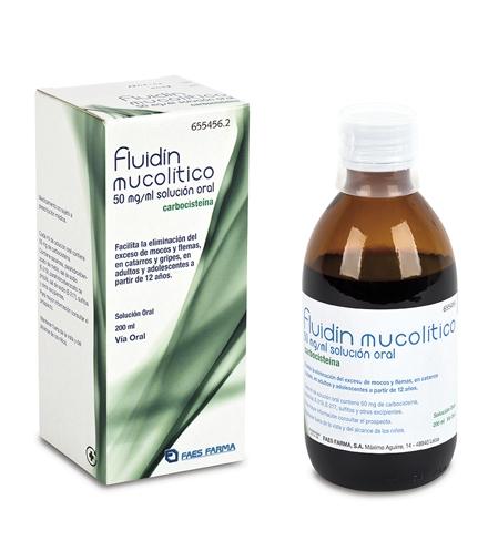 Imagen del producto FLUIDIN MUCOLITICO, FRASCO DE 200 ML
