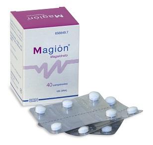 Imagen del producto MAGION (450 MG 40 COMPRIMIDOS MASTICABLES)