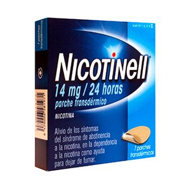 Imagen del producto NICOTINELL 14 MG/24H 7 PARCHES TRANSDÉRMICOS