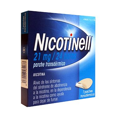 Imagen del producto NICOTINELL 21 MG/24H 7 PARCHES TRANSDÉRMICOS