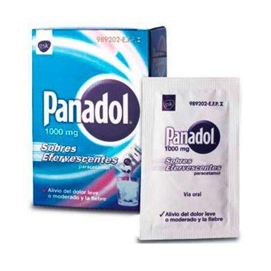 Imagen del producto PANADOL 1 G 10 SOBRES EFERVESCENTES
