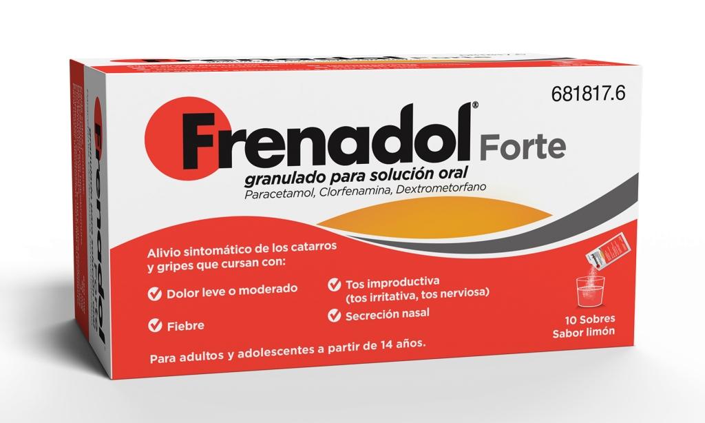Imagen del producto FRENADOL FORTE GRANULADO PARA SOLUCION ORAL , 10 SOBRES