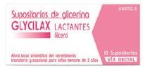 Imagen del producto SUPOSITORIOS DE GLICERINA GLYCILAX LACTANTES, 10 SUPOSITORIOS