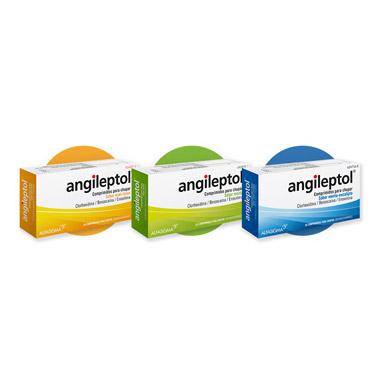 Imagen del producto ANGILEPTOL (30 COMPRIMIDOS PARA CHUPAR MENTA)