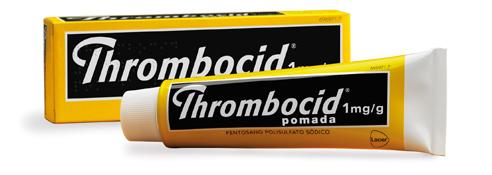 Imagen del producto THROMBOCID 1 MG/G POMADA 60 G