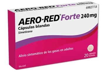 Imagen del producto AERO RED FORTE 240 MG CÁPSULAS BLANDAS, 20 CÁPSULAS