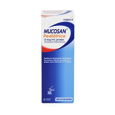Imagen del producto MUCOSAN PEDIATRICO 3 MG/ML JARABE , 1 FRASCO DE 200 ML
