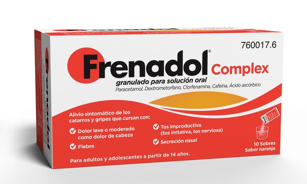 Imagen del producto FRENADOL COMPLEX 10 SOBRES