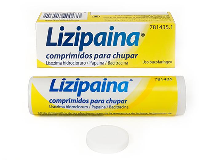 Imagen del producto LIZIPAINA 20 COMPRIMIDOS DISOLUCIÓN ORAL