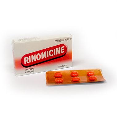 Imagen del producto RINOMICINE GRAGEAS, 6 GRAGEAS