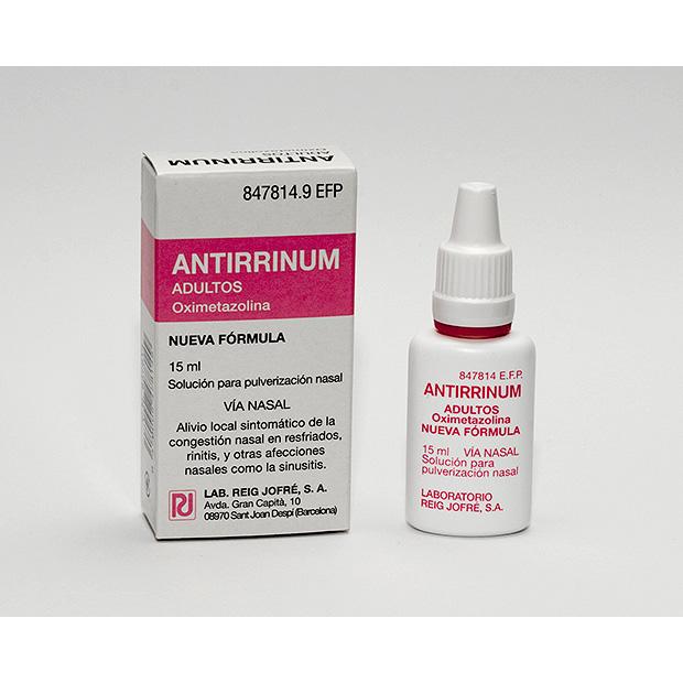 Imagen del producto ANTIRRINUM NEBULIZADOR 15 ML ADULTO