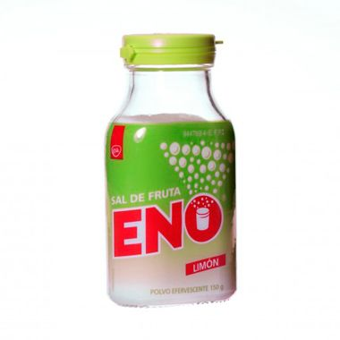 Imagen del producto SAL DE FRUTA ENO LIMON POLVO EFERVESCENTE 150 G