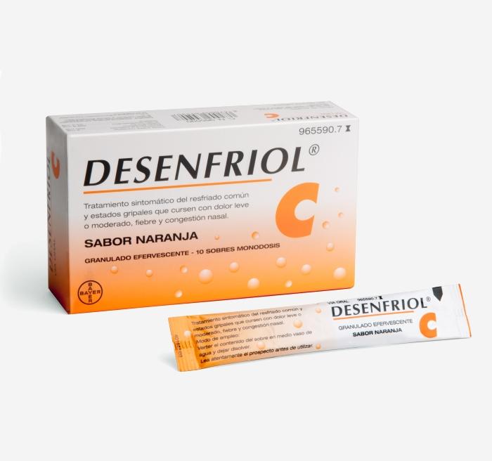 Imagen del producto DESENFRIOL C 10 SOBRES