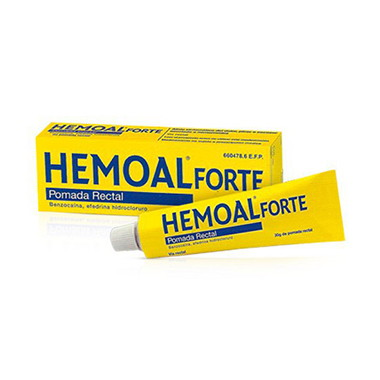Imagen del producto HEMOAL FORTE POMADA RECTAL 30 G